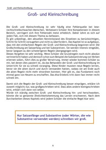 Weitere Übungen, die stark machen bei LRS (E-Book PDF)