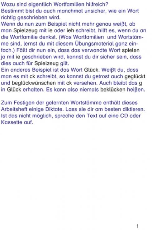 Wortfamilie und Wortstamm (E-Book PDF)