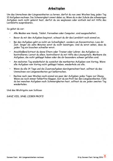 Mit Längeneinheiten rechnen - in zwei Wochen zum Profi (PDF-E-Book)