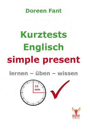 Kurztests Englisch: simple present (E-Book PDF)