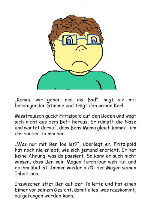 Fritzipold - Krank sein ist blöd! (E-Book ePub)