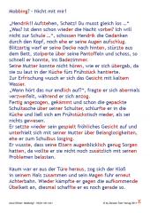 Mobbing - Nicht mit mir (Silbenschrift PDF)