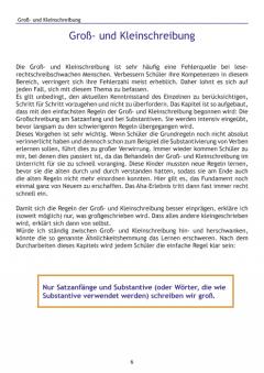 Weitere Übungen, die stark machen bei Lese-/Rechtschreibschwäche