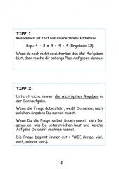 Knobel- und Sachaufgaben rund ums Einmaleins (E-Book PDF)