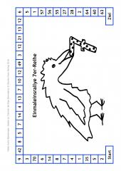Tolle Spiele zum Tierisch leichten Einmaleins (E-Book PDF)