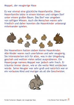Silbenschriftgeschichten für Erstleser (E-Book, PDF)