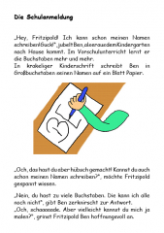 Fritzipold - Die Einschulung (E-Book ePub)